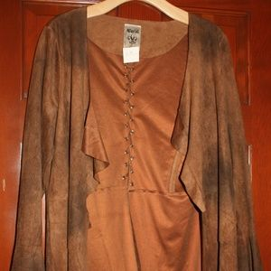 Vocal Long Sleeved Brown